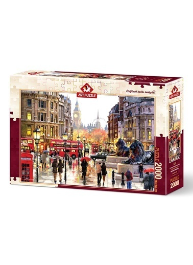 Educa Art Puzzle 2000 Parça Trafalgar Meydanı Londra  Renkli